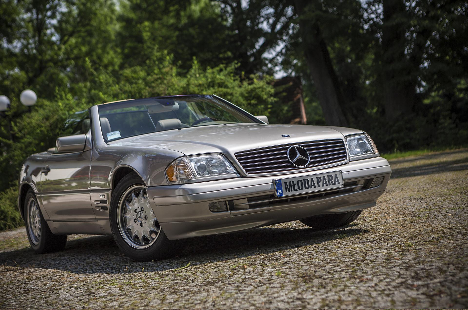 samochód do ślubu auto do ślubu v12 luksusowy mercedes